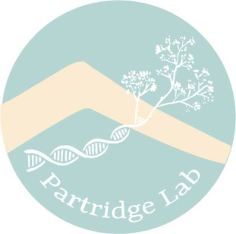 partridge lab logo with text